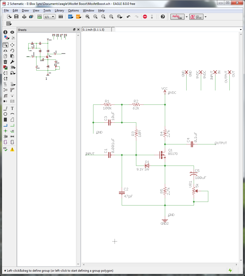 Planning And Prototyping A Mosfet Boost Circuit Remy Chan Pedal Wiring Diagram 12 With The Schematic